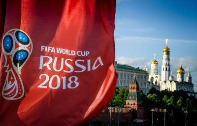 "The 2018 World Cup is underway. ""The world is watching, and so am I,"" Bill Littlefield says. (Mladen Antonov/AFP/Getty Images)"