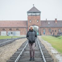 Ray Allen spent three days in Poland in the spring of 2017. His trip included a visit to Auschwitz. (Elan Kawesch)