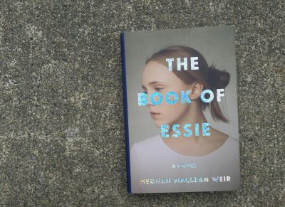 "Cover of Meghan MacLean Weir's ""The Book Of Essie."" (Carol Iaciofano/WBUR)"