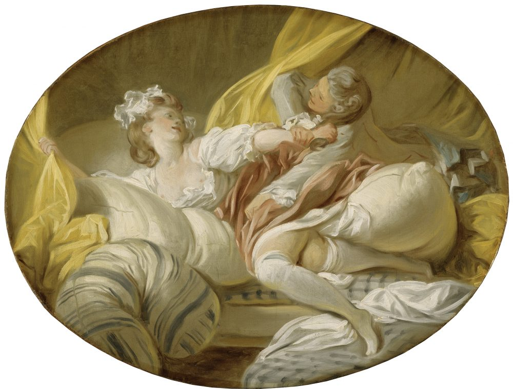 "Jean‑Honoré Fragonard's ""The Useless Resistance,"" painted around 1770. (Courtesy Museum of Fine Arts, Boston)"
