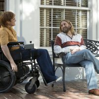 "Joaquin Phoenix as John Callahan and Jonah Hill as Donnie star in ""Don't Worry, He Won't Get Far on Foot."" (Courtesy Scott Patrick Green/Amazon Studios)"
