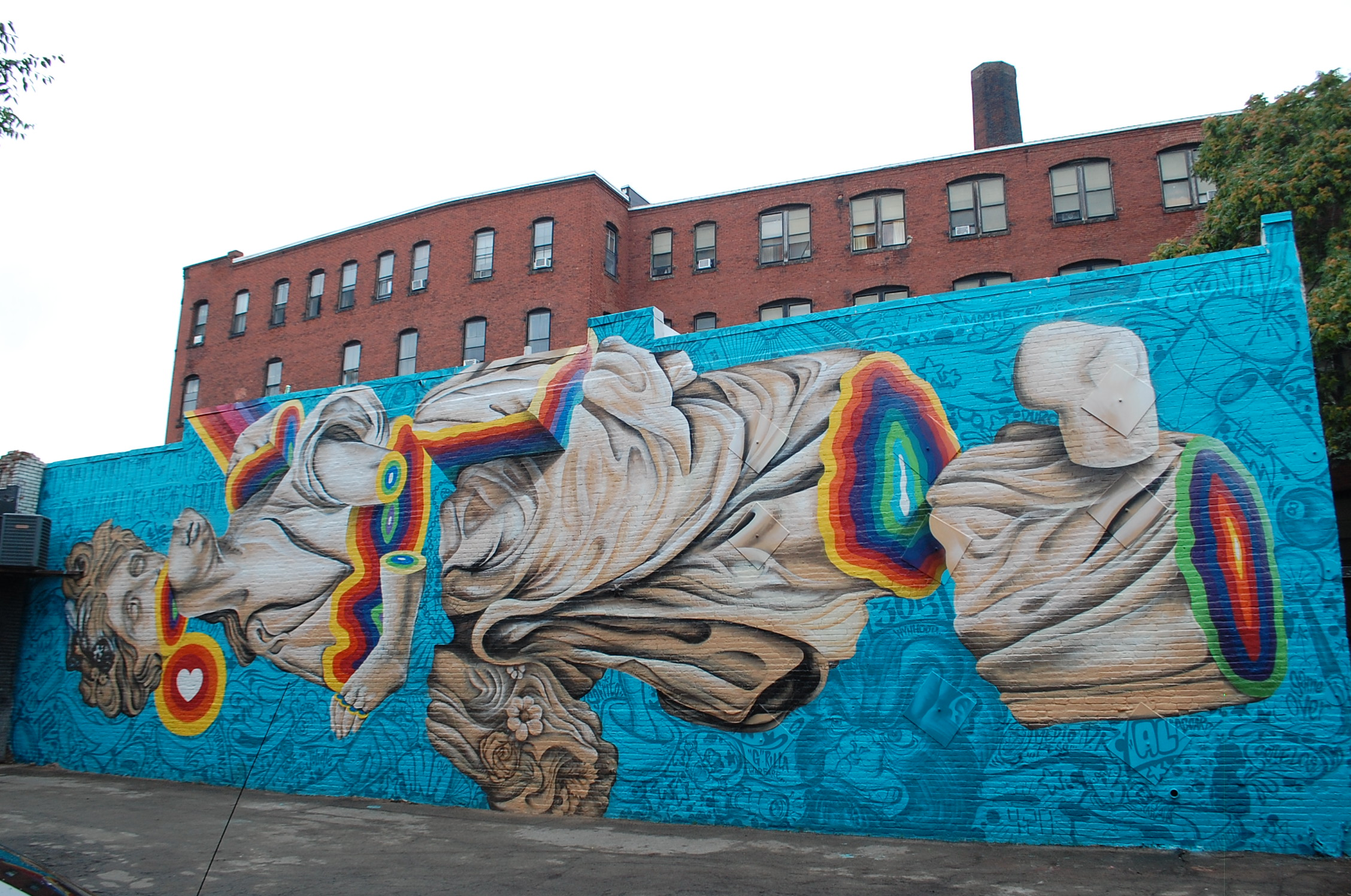 our favorite street art from lynn u0026 39 s beyond walls mural