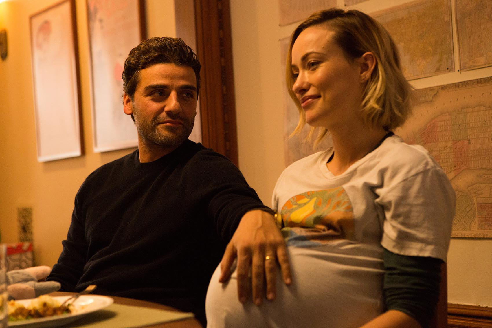 "Oscar Isaac, as Will, and Olivia Wilde, as Abby, in a still from ""Life Itself."" (Courtesy Jon Pack)"
