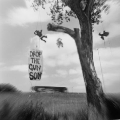 "C. B. Adams' ""Hanging Tree: Gun Play"" was chosen for this year's Toy Camera Festival. (Courtesy of the artist)"