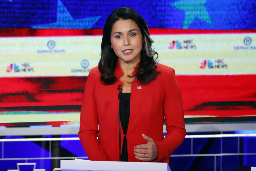 Presidential Candidate And Hawaii Rep. Tulsi Gabbard On ...