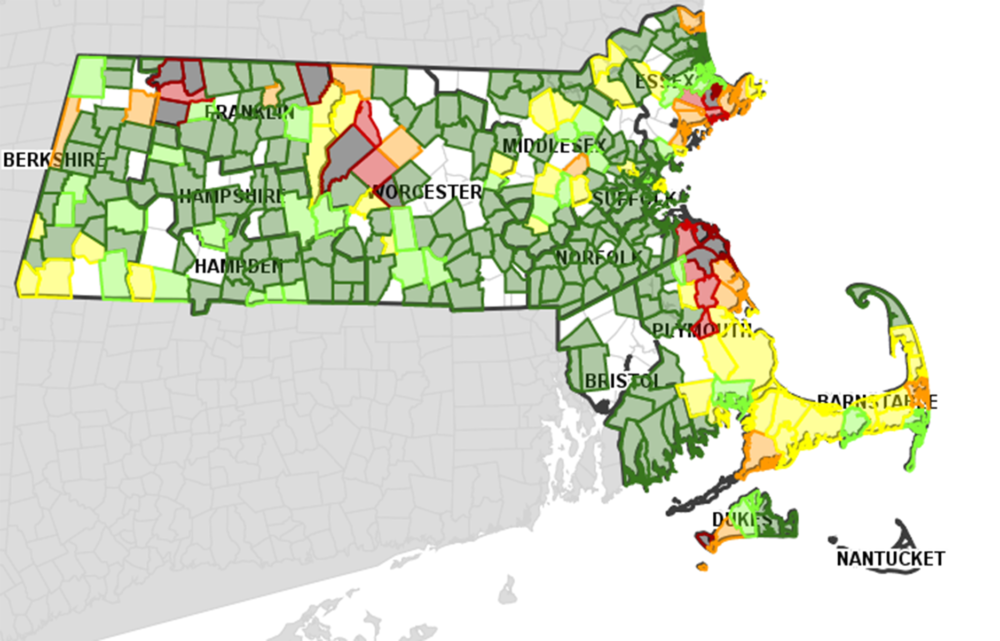 Power Restoration In Mass Could Take Days After Overnight Storm