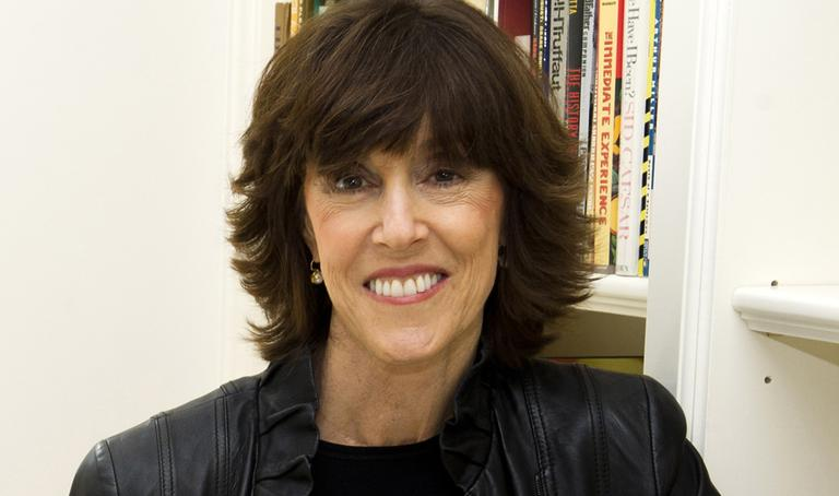 This Nov. 3, 2010 file photo shows author, screenwriter and director Nora Ephron at her home in New York. (AP)