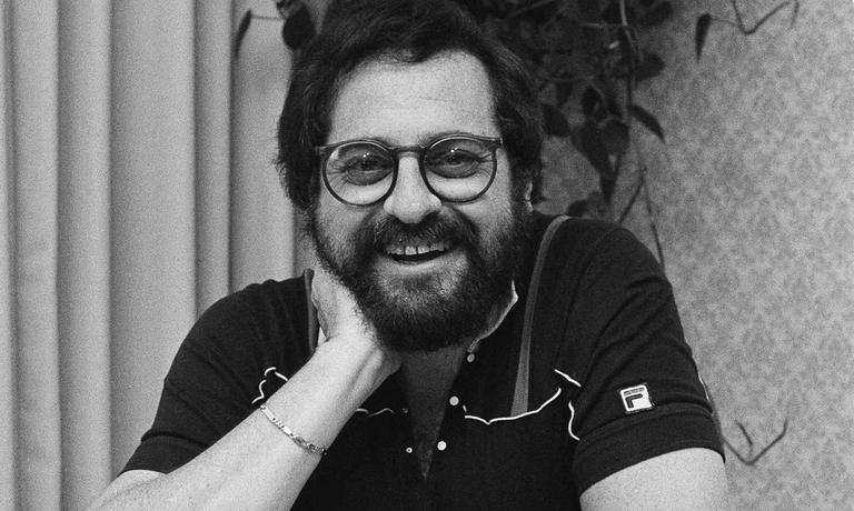 "Music producer Phil Ramone, responsible for such hits as the soundtrack to the film ""Flashdance,"" and Billy Joe's ""Tell Her About It"" is so used to staying ""behind the scenes,"" that interviews centering around his accomplishments make him somewhat ill at ease, Oct. 24, 1983. (AP)"