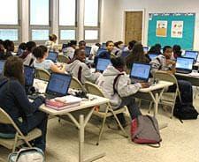 Computer class at Trinity Catholic Academy in Brockton, MA. (Photo:AP)