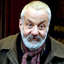 """Director Mike Leigh at the premiere of """"Happy-Go-Lucky"""" outside the Glasgow Film Theatre in April 2008. (Photo: Stuart Crawford)"""