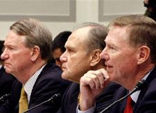 Auto industry executives testify on Capitol Hill, Nov. 19, 2008. (AP)