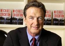 Michael Crichton in December 2004. (AP Photo)