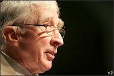 John Updike at BookExpo America in Washington, May 20, 2006.(AP)