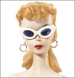 Barbie, 1959. (Photo: Courtesy Mattel.)