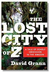 The Lost City of Z (cover detail)