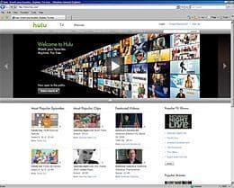 Screen shot from Hulu.com.