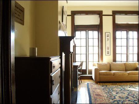 FDR Suite Interior present day. (Courtesy David Foxe)