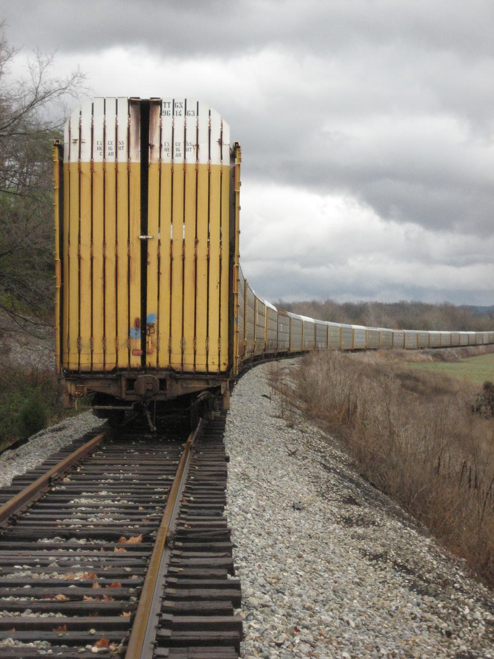 Freight Cars in Kentucky courtesy of Bob Carroll.