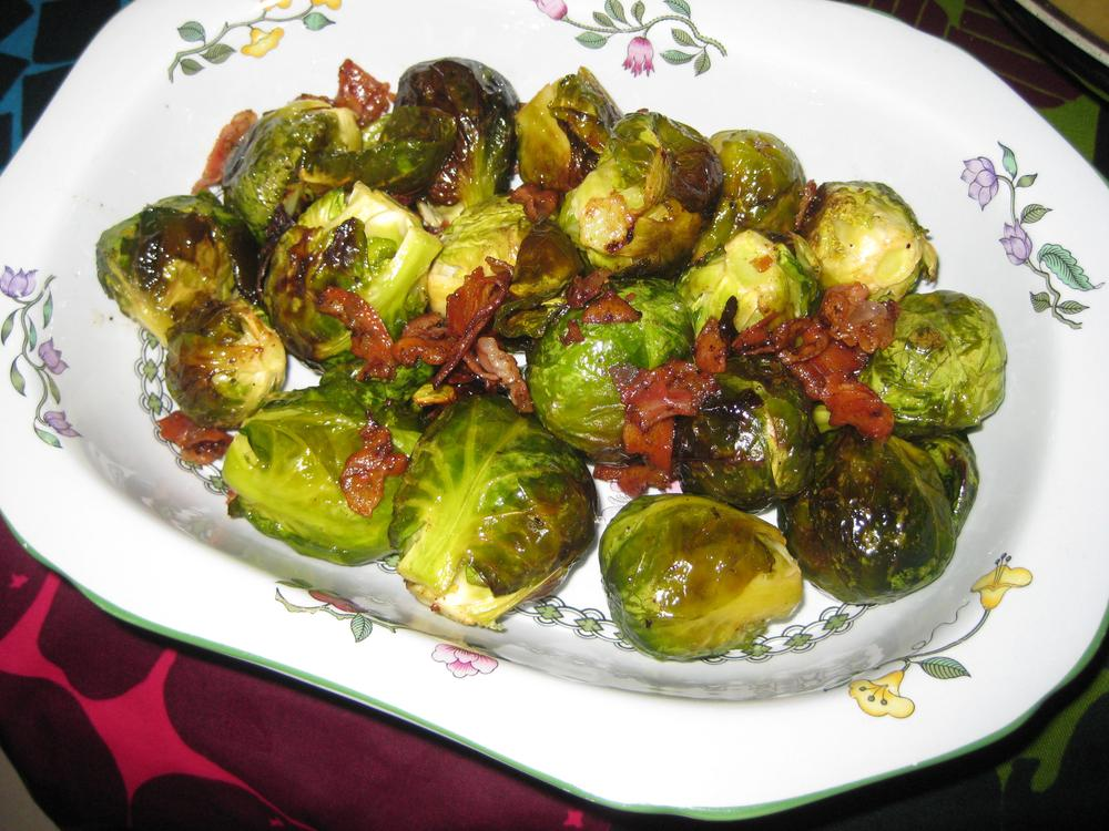 (Kathy Gunst) Roasted brussel sprouts