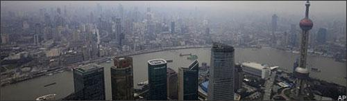 A view of Shanghai, China, March 2009. (AP)