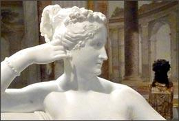 Pauline Bonaparte at Galleria Borghese, by Dhfeinsmith/Flickr