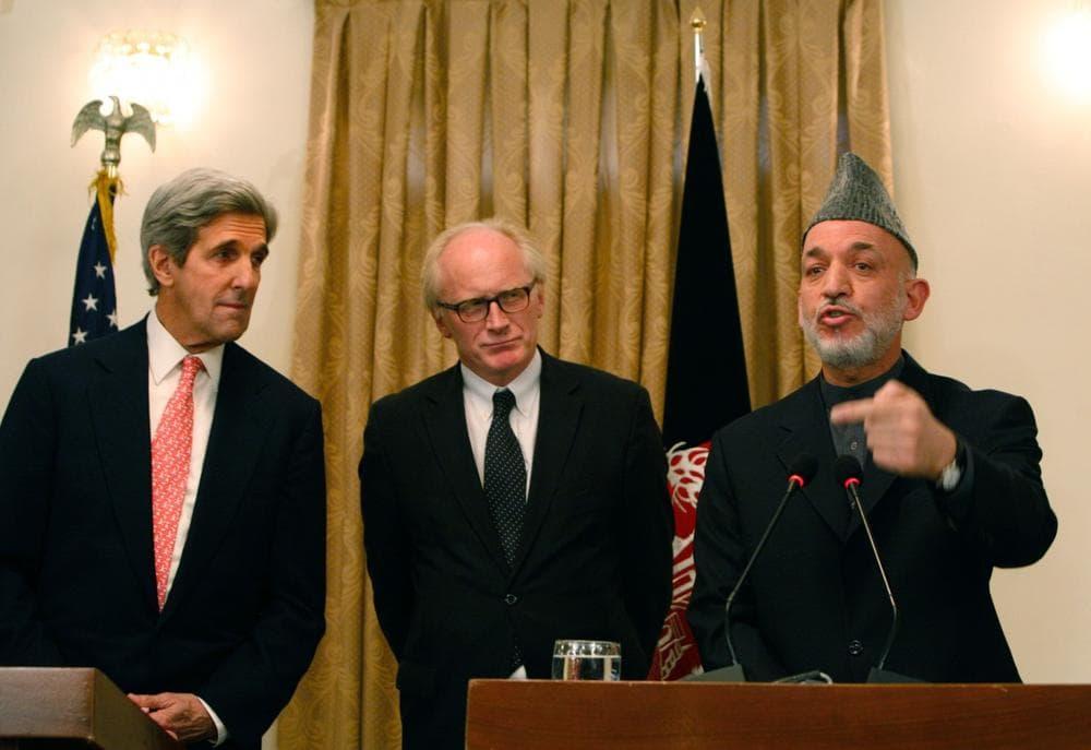 Kharzai Endorses Afghan Runoff Election | WBUR News