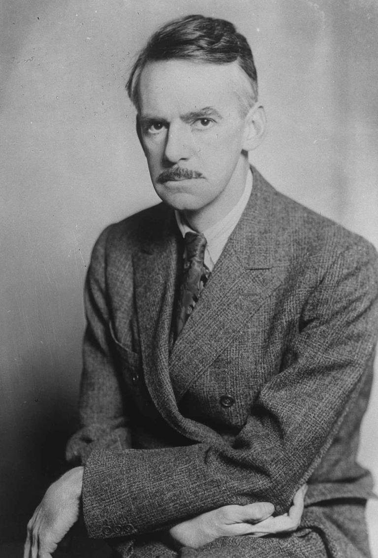 American playwright Eugene O'Neill in 1936. (Via AP)