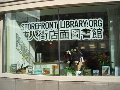(Sam Davol/Chinatown Storefront Library)