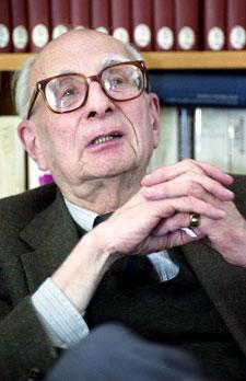 Claude Levi-Strauss in 1989.
