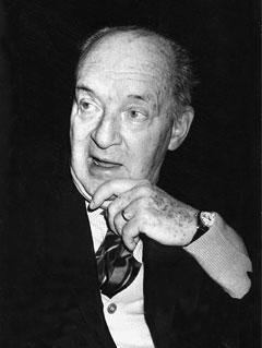 Writer Vladimir Nabokov is shown in Montreux, Switzerland, in Dec. 1976. (AP Photo)