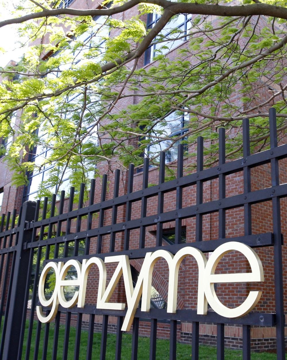 Genzyme's Allston manufacturing facility. (AP)