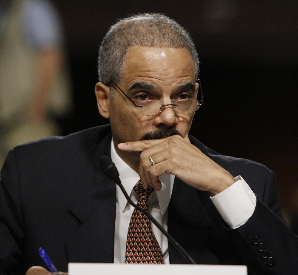Attorney General Eric Holder on Capitol Hill, Nov. 18, 2009. (AP)