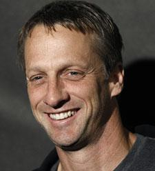 Tony Hawk, in Los Angeles, June 2009. (AP)