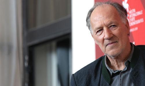 German director Werner Herzog poses at the Venice Film Festival in Venice, Italy, September 2009. (AP)