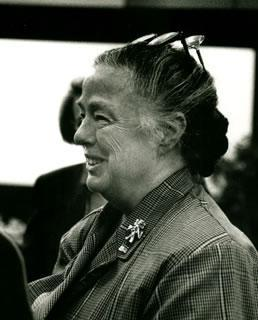 Bess Lomax Hawes (Courtesy National Endowment for the Arts)