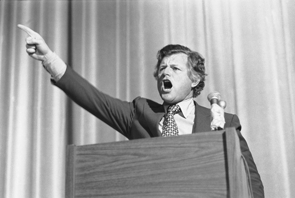 The person elected to fill the U.S. Senate seat left empty by the late Edward M. Kennedy could end up voting on the national health care reform bill being debated in Congress — legislation that Kennedy championed for much of his decades-long career. Here, Kennedy makes a plea for national health insurance in 1978. (AP)