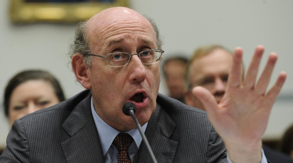 Kenneth Feinberg, special master for TARP executive compensation, testifies before the House Oversight and Government Reform Committee in October. (AP)