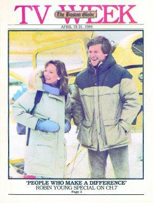 Robin Young and Bobby Orr visited ice-locked fishermen in Quebec, Labrador, in 1984 for a special that aired on Boston's Channel 7. Orr was a perfect gentleman.
