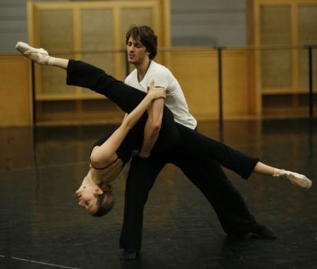 "Genus Agnes Letestu and Mathieu Ganio in Frederick Wiseman's ""La Danse."" (Zipporah Films, Inc.)"