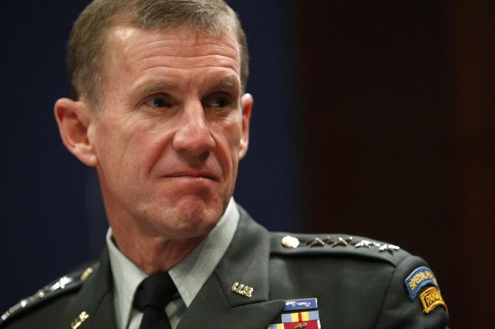 Gen. Stanley McChrystal, commander of U.S. Forces in Afghanistan, testifies before the House Armed Services Committee in Washington on Tuesday. (AP)