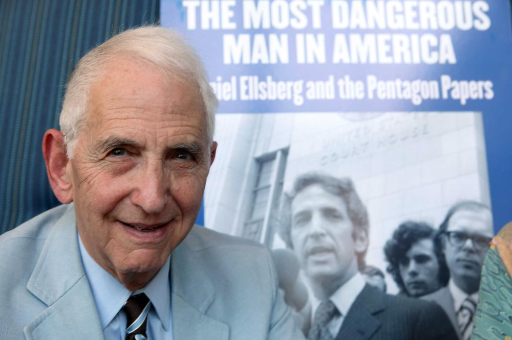 Daniel Ellsberg, 78, at a movie event in Sept. 2009 (AP)