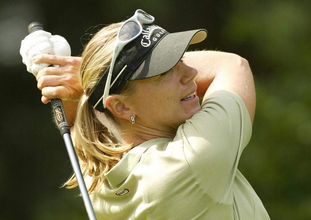 Golfer Anika Sorenstam of Sweden in July 2004. (Alastair Grant/AP)