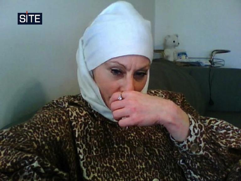 """Colleen LaRose, the self-described """"Jihad Jane,"""" faces terrorism charges in Pennsylvania (AP/SITE Intelligence Group)"""