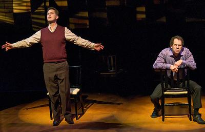 "Michael Kaye, left, and Benjamin Evett in ""Opus."" (Andrew Brilliant/ Brilliant Pictures) (Click to enlarge)"