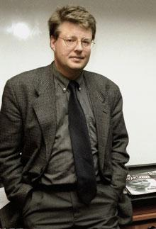 Author Stieg Larsson in a 1998 file photo. (AP)
