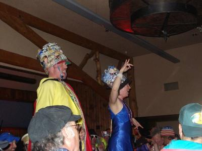 The 2009 Dirtbag King and Queen are crowned (Buck's T-4)