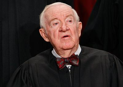 Justice John Paul Stevens announced his retirement from the Supreme Court today.