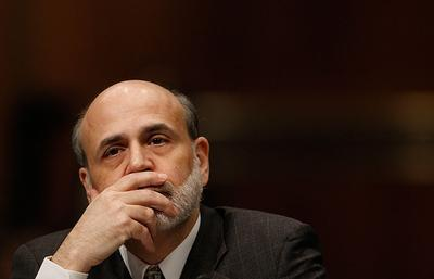 Federal Reserve Chairman Ben Bernanke testifies in Washington on Wednesday before the Joint Economic Committee hearing on the economy. (AP)