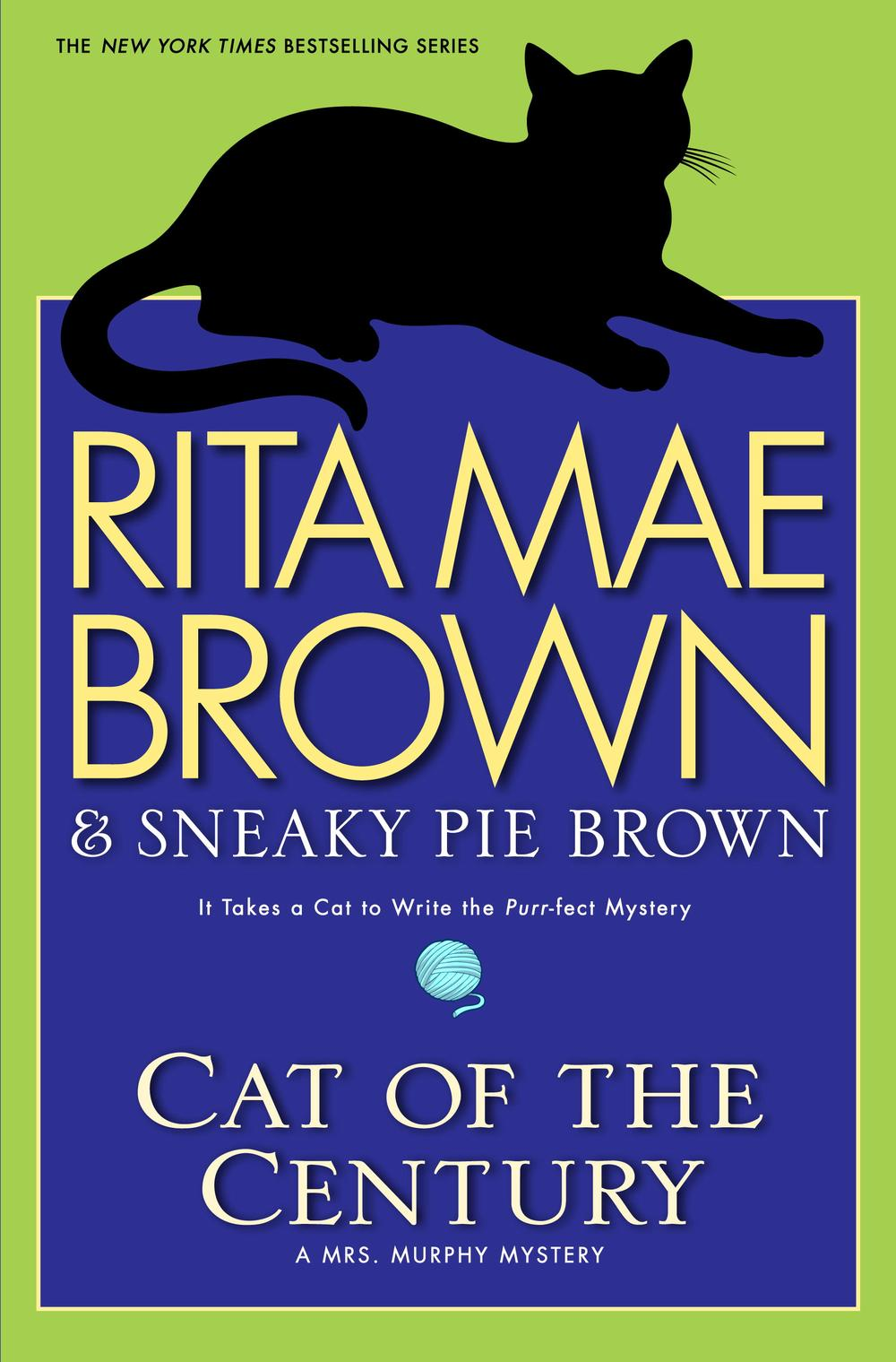 """Cover image from Rita Mae Brown's """"Cat of the Century."""""""