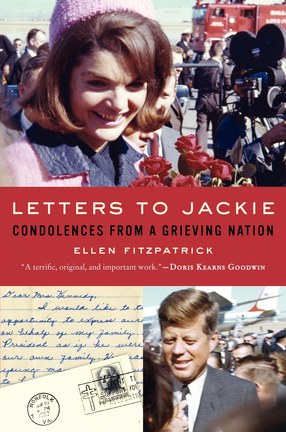 "Cover image of ""Letters to Jackie."""